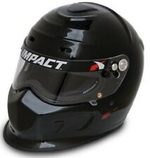 IMPACT CHAMP HELMET NEW SNELL 2015 GLOSS BLACK LARGE