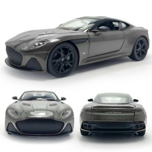 1:24 Aston Martin DBS Superleggera Collectible Model Car Diecast Vehicle Grey