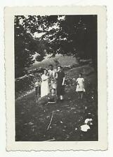 91099 ANTICA FOTO FOTOGRAFIA AGOSTO 1936 ROGOLO VALTELLINA SONDRIO