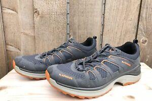Lowa Innox Evo Lo Men's Gray Mesh Hiking Shoes Size US 9