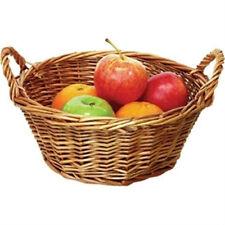 Willow Round Table Basket (Single)  23 x 9.5 cm  (Part No. P762)