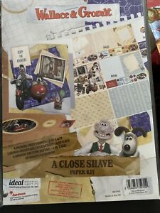wallace and gromit a close shave Paper Kit