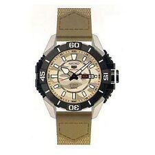 Relojes de pulsera Seiko 5 Sports de plata para hombre