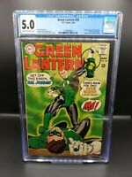 Green Lantern #59 CGC 5.0 1st Appearance of Guy Gardner. HBO Max. DC COMICS HOT