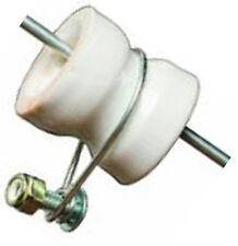 500 X Electric Fence Steel Y Post Insulator Porcelain Tape Cord Wire Farm BULK