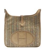 Hermes Evelyne Multi-Color Leather Crossbody Bag