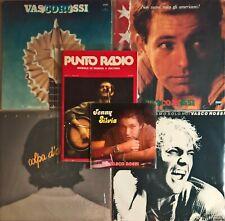 Vasco Rossi # collezione 1977-1981 # LOP 12802 e altri