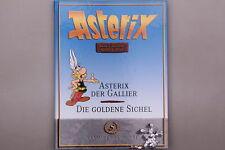 149238 ASTERIX DER GALLIER, DIE GOLDENE SICHEL Sammlerausgabe HC +Abb TOP!
