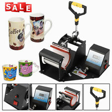 2in1 Digit Display Heat Press Transfer Sublimation Machine for Cup Coffee Mug VP