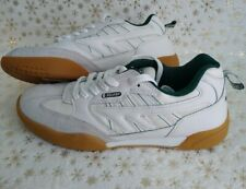 Hi-Tec Mens UK Size 10 White Squash Shoe Trainers (ms2) Mint Worn only once!