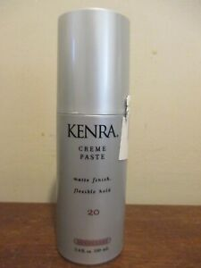 Kenra Creme Paste Matte Finish #20 3.4 oz flexible Hold