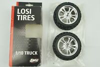 Losi LOSA17686B 320S Smasher XL Tires With SpokeZ Wheels For 1/10 Speed-T