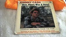 Johnny Cash 45rpm Now There Was A Song Vol. 1 EP B14631 4 songs VG