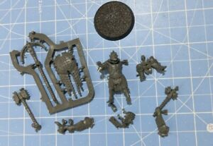 Warcry Iron Golem Signifier/Prefector Slaves to Darkness Unused Model