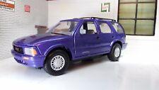 1:24 Scale 1994 GMC Jimmy Chevrolet S-10 Blazer V6 SUV 4x4 Diecast Model Car