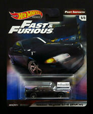 RARE Hot Wheels Black Nissan Skyline Gt-r (bnr32) Fast and Furious 7 2020