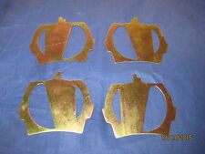 MG MIDGET SPRITE 1967 -80 SET OF FOUR  FRONT BRAKE PAD SHIMS TR7 VIVA  ZU35
