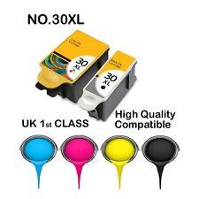 6 COMPATIBLE Kodak 30 XL Black & Colour Replace for ESP C110 C310 C315 Printer