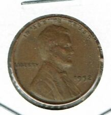 1952 Philadelphia Circulated Business Strike Copper One Cent Coin!