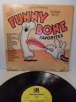 FUNNY BONE favorites Ronco Presents 18 Original hits Original Stars Rare LP