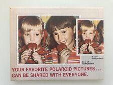 Vintage Polaroid Copy Service order Form Mint Condition Color