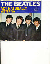 The Beatles Act Naturally Yesterday Capital 45/picture sleeve ex Comic1