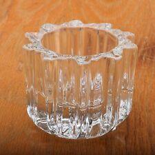 Vintage Sun Shape Glass Candle Holder Avon