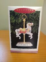 Hallmark Keepsake Ornament. Tobin Farley Carousel #4 In Series 1995