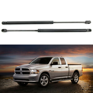 2x Hood Gas Lift Supports shocks struts For 2002-2010 Dodge Ram 1500 2500 3500
