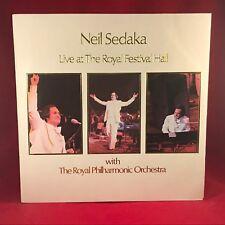 NEIL SEDAKA Live At The Royal Festival Hall 1974 UK Vinyl LP EXCELLENT CONDITION