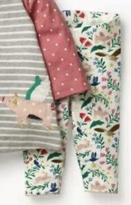 Brand New Mini Boden Baby Girls Peculiar Animal Fairytale Leggings 3Months-3yrs