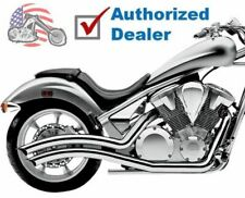 Cobra Chrome Speedster Swept Exhaust Pipes 2010-2020 Honda Fury Stateline Sabre
