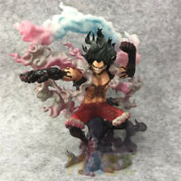 ONE PIECE Figure Monkey D Luffy Gear 4 Snake Man Action Figure Model Collection