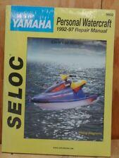 Yamaha Personal Watercraft 1992-97 Repair Manual Covers All Models 9602