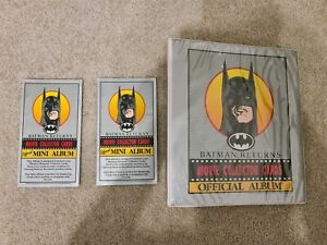 1992 Batman Returns Collector Cards Trading Cards Inserts With Folder