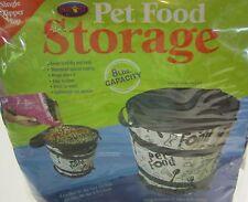 Sport PET FOOD STORAGE 8lb capacity Pop Open dog cat factory sealed NEW NIP