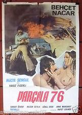 Parçala 76 {Hülya Şengül} Turkish Original Movie Poster 70s