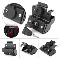 Hood Lock w/Key Anti-Theft Assembly Set for 07-16 Jeep Wrangler JK/Unlimited cl