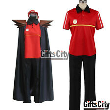 The Devil Is a Part-Timer! Sadao Maou Satan Jacob Cosplay Costume with Cloak