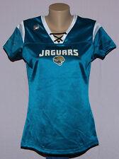 Jacksonville Jaguars Womens Lace Up V-Neck Jersey T-Shirt - NFL