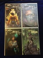 The Darkness Lot #1 Signed COA #4 #6 Darkness Witchblade #1 Top Cow Image Comics