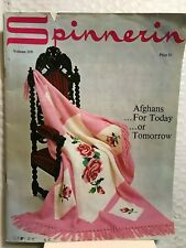 Spinnerin Afghans For Today Or Tomorrow Softcover Knit Crochet Pattern Book 1970