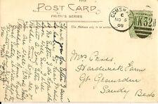 Gomshall: 1908 K32 numerale Annulla nella foto cartolina