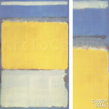 "36W""x58H"" NUMBER 10, 1950 by MARK ROTHKO - SOFT MULTIFORMS CANVAS"