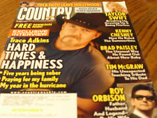 Trace Adkins Covers Country Weekly Magazine December 2008 Taylor Swift