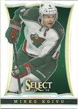 MIKKO KOIVU 2013-14 Panini Select Hockey Prizm Card #73 Wild