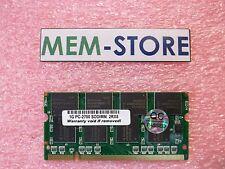 311-2962 1GB PC2700 DDR333 SODIMM Memory Dell Inspiron