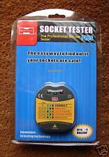 SOCKET TESTER (MASTECH) WITH BUZZER - LED DISPLAY