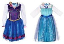 NEW Disney Frozen Elsa & Anna Dress Costume Princess 4-6X 4 5 6 6X