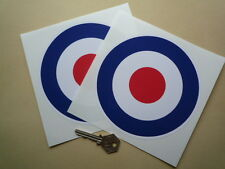 RAF Roundel 6inch Pair Scooter STICKERS Classic Sports Saloon Car Mods Biplane